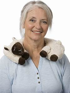 Neck Warmer - Microwavable Neck Warmer - Sheep Motif Neck ...
