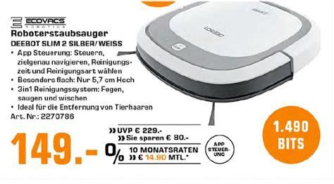 smart home günstig ecovacs deebot slim staubsaugerroboter g 252 nstig kaufen alles smart home