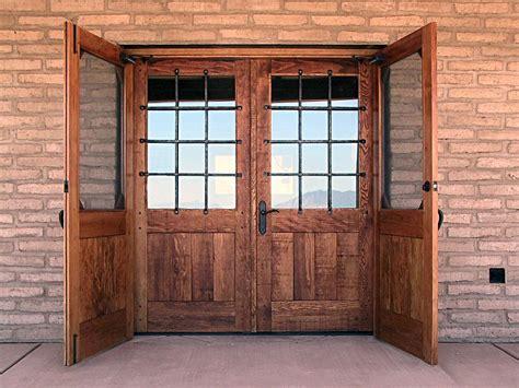 rustic doors bespoke  rustic oak  hardwood doors