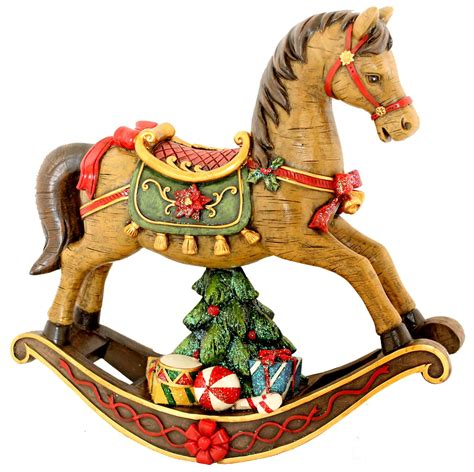 rocking horse christmas ornaments exhibitors list