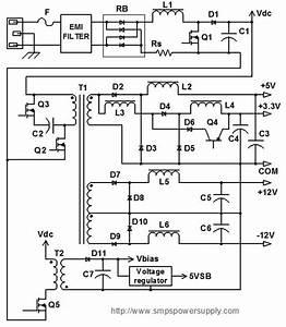 Atx Switch Mode Power Supply Unit Circuit