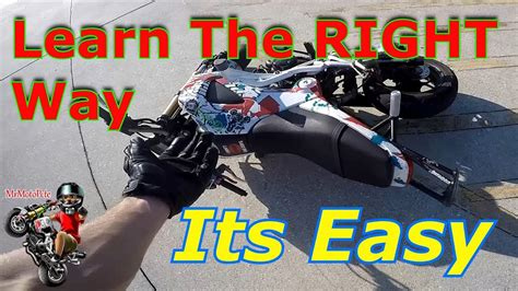 Top 5 Things You Need To Wheelie A Motorcycle! Learn To