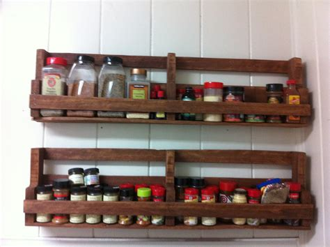 Diy Pallet Spice Racks For Kitchen  Pallets Designs