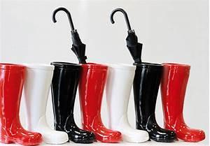 Porte Parapluie Original : porte parapluies original botte pluie deco boisetdeco ~ Melissatoandfro.com Idées de Décoration