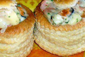 bouchee aux fruits de mer savoureuses marmite du monde