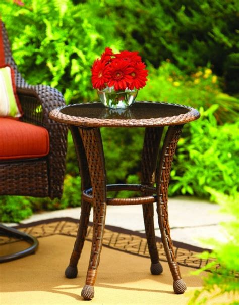 Azalea Ridge Patio Furniture Table by Azalea Ridge 20 Wicker Outdoor Side Table Fresh