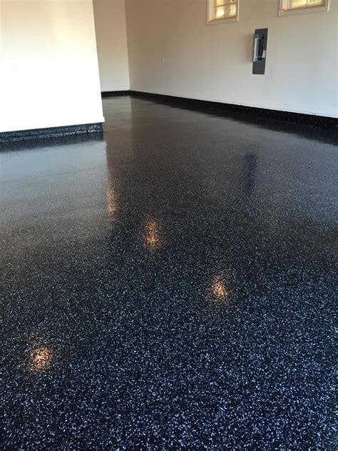 epoxy flooring flakes color flake resionous epoxy flooring lincoln ne nebraska decorative concrete contractors