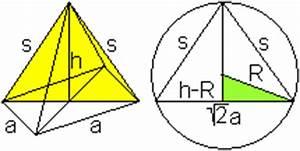 Radius Einer Kugel Berechnen Wenn Volumen Gegeben Ist : quadratische pyramide ~ Themetempest.com Abrechnung