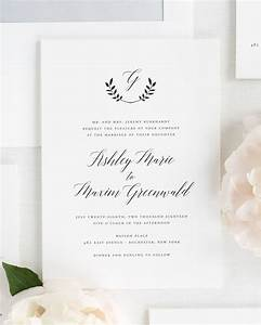 wreath monogram wedding invitations wedding invitations With monogram for wedding invitations etiquette