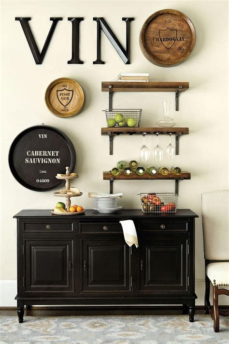 Decorating Ideas For Kitchen Bar by 2019 Wine Theme Wall Wall Ideas