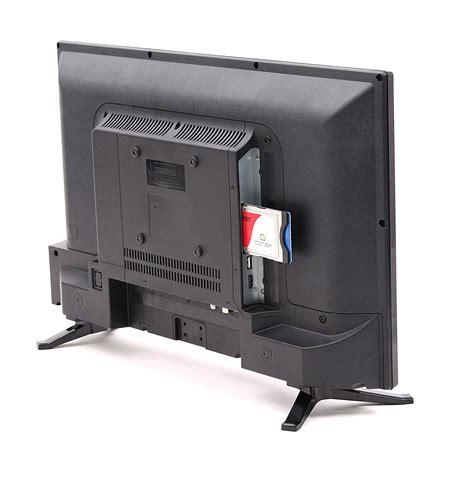 12v fernseher mit integriertem sat receiver opticum led tv 20 zoll hdtv travel ci fernseher 12v 24v dvb s2 t2 c h 265 hevc ebay