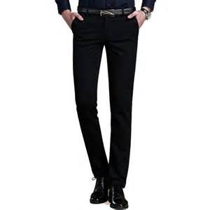 online get cheap mens black dress pants aliexpress com