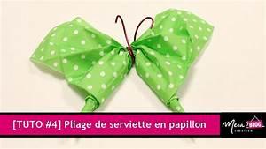 Pliage De Serviette Papillon : tuto 4 pliage de serviette en papillon en 2 minutes 30 youtube ~ Melissatoandfro.com Idées de Décoration