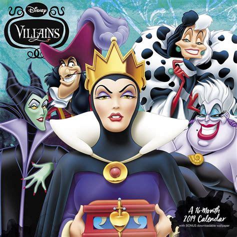 Disney Villains 2019 Wall Calendar