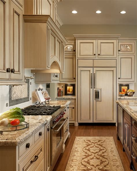 kitchen paint colors with cream cabinets antique ivory kitchen cabinets with black brown granite
