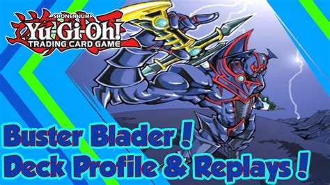 Buster Blader Deck Profile by Buster Blader Deck Profile Replays New Support W Blue
