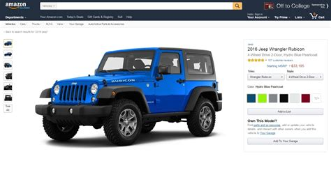 Amazon Just Launched Vehicles, A Place To Lust After Cars