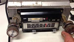 Vintage 1970 U0026 39 S Audiovox Am Fm Stereo 8 Track 23 Channel Cb