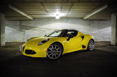 How Much Is The Alfa Romeo 4c by Exhaust Notes 2016 Alfa Romeo 4c Spider Canadian Auto