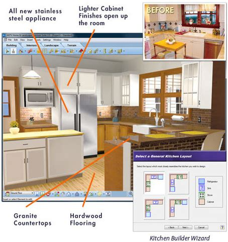 kitchens design software kitchen design software architect 3552