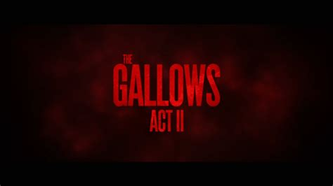 valley film production company  release  gallows act