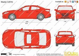 Dimension Mazda 3 : the vector drawing mazda 3 sedan ~ Maxctalentgroup.com Avis de Voitures