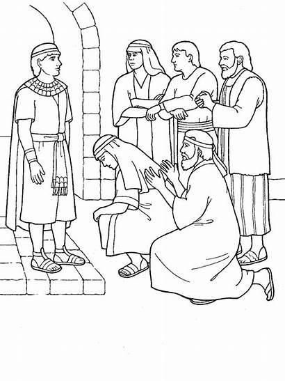 Joseph Brothers Forgives Primary Scripture Symbols