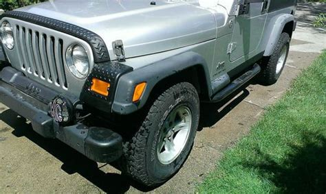 silver jeep 2 door buy used 2005 silver jeep wrangler unlimited 2 door with