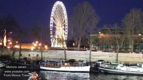Bateau Mouche River Cruise Paris by Bateaux Mouches River Cruise In Paris Youtube
