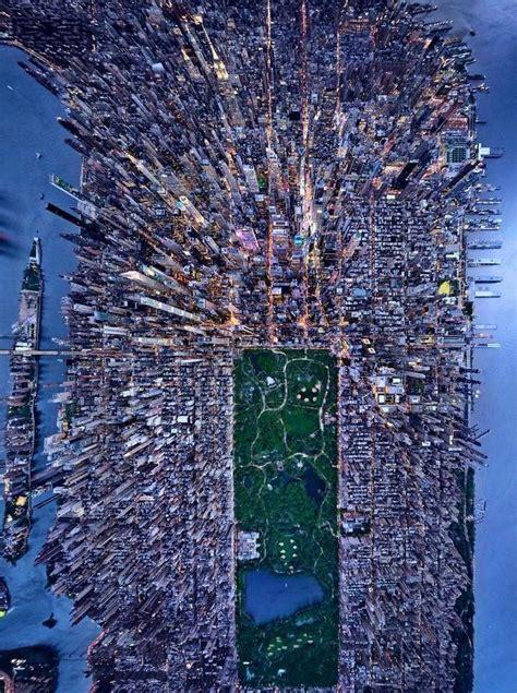 birds eye view   york city photography lighting