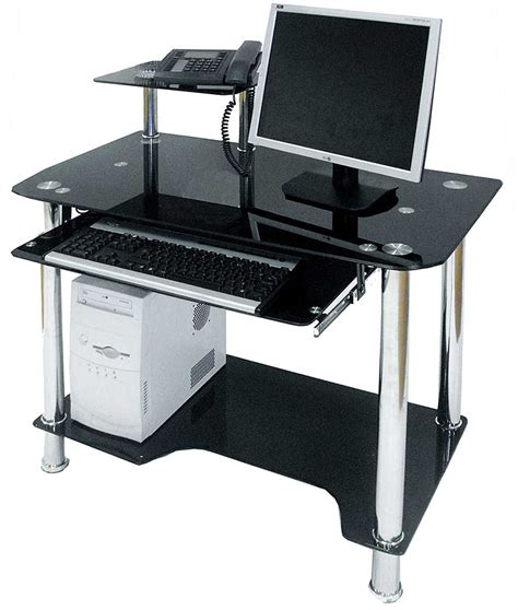 how much is a desk black computer desk with drawers review and photo