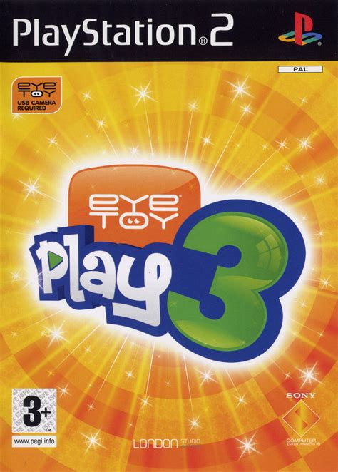 We did not find results for: EyeToy: Play 3 (2005) PlayStation 2 credits - MobyGames
