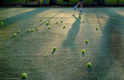 Tennis Ball Background Wallpapers Sports Wall