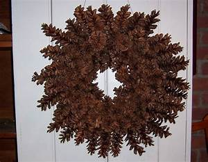 How, To, Make, A, Beautiful, Pine, Cone, Wreath, U2013, Without, Gluing, Or, Wiring
