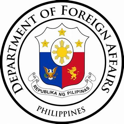 Foreign Affairs Philippines Secretary Department Seal Wikipedia