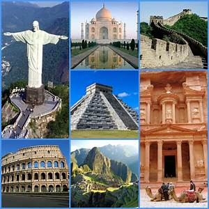 The (New) Seven Wonders of The World!