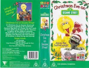 Christmas Eve Sesame Street VHS