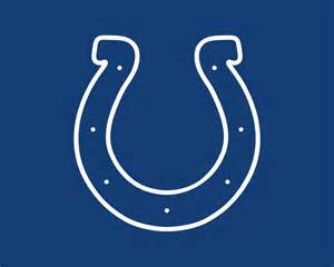 Blue Indianapolis Colts Logo