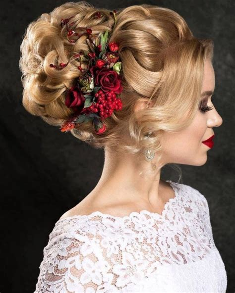 updo hairstyles for long hair christmas party hairstyles