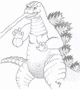 Godzilla Coloring Pages - coloringsuite.com