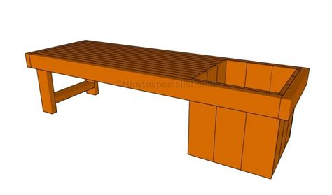 top  ideas  planter bench  pinterest outdoor