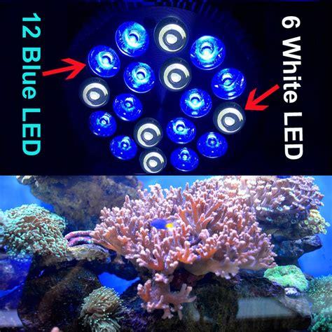 rayway e27 pa38 12blue 6white led aquarium light bulb