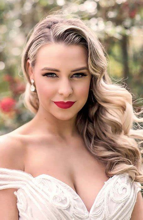 chic bridal hairstyles   special day  trend spotter