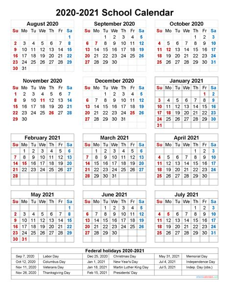 View Printable Academic Calendar 2021  Pictures