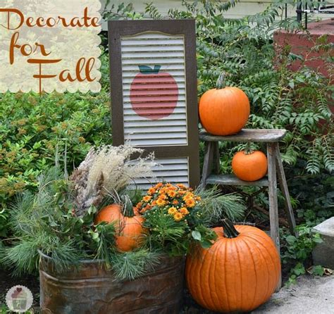 ideas  outdoor fall decorations  pinterest thanksgiving decorations outdoor