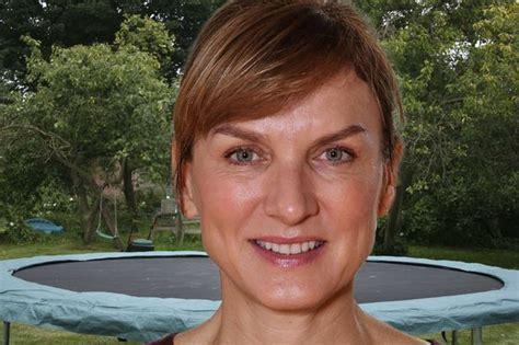 BBC's Fiona Bruce reveals moment she heard her bone snap ...