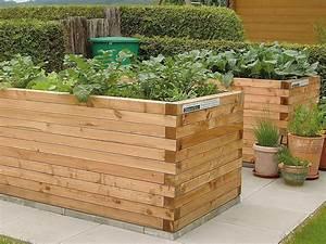 Hochbeet Für Garten : hochbeet l rchenkantholz blickfang bepflanzung im garten ~ Sanjose-hotels-ca.com Haus und Dekorationen