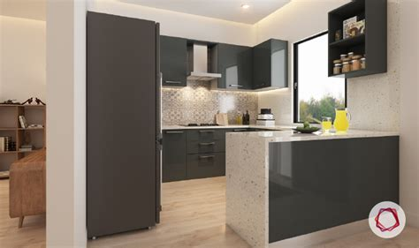 kitchen island styles 12 gorgeous grey kitchens for indian homes