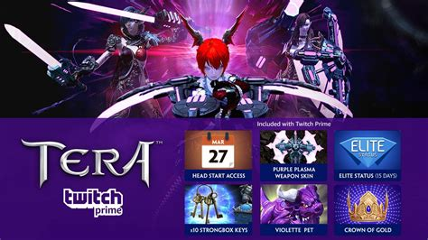 twitch prime members  play tera  ps  xbox