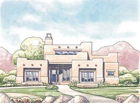 adobe style home adobe house plans at eplans com southwest house plans